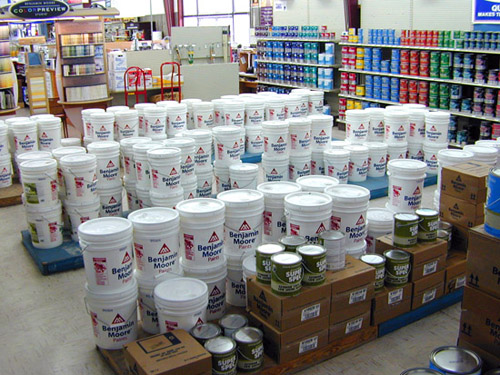 Full Selection of Benjamin Moore Paints